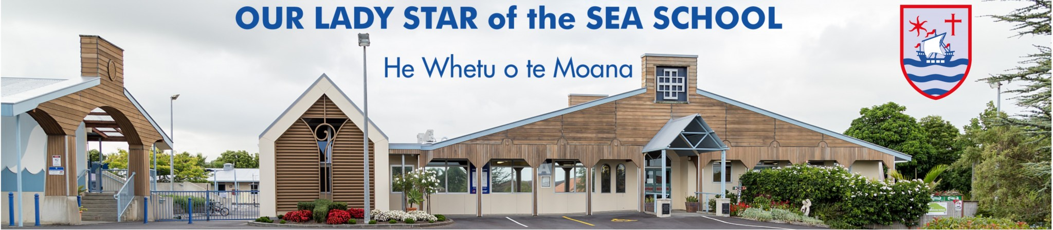 Our Lady Star of the Sea School Logo